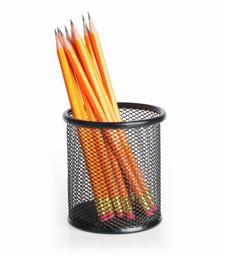 Стойка карандаша стоковое изображение