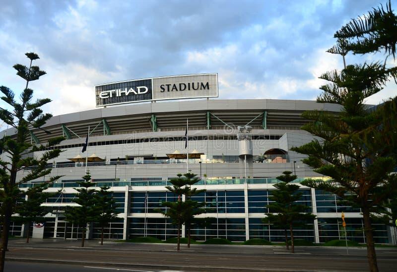Стойка Мельбурна стадиона Etihad стоковые фото
