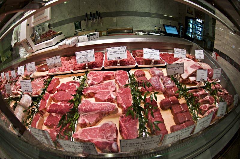 Стойка мяса стоковое изображение rf