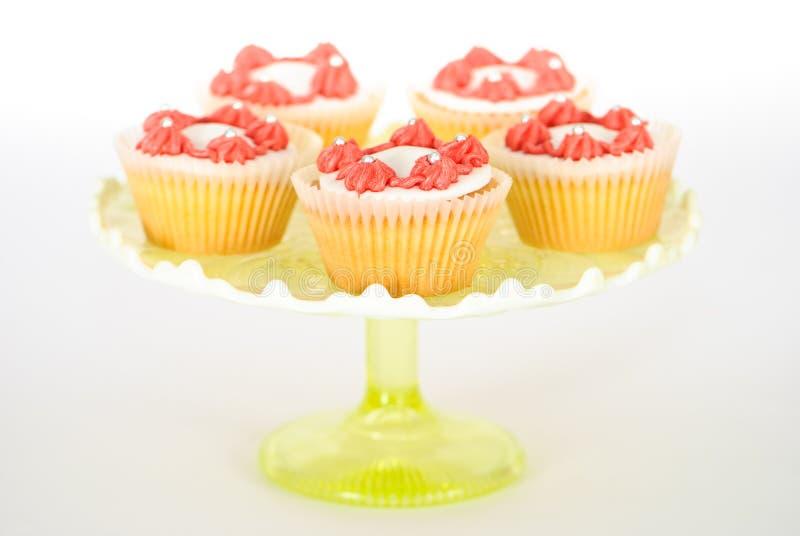 стойка пирожнй торта стоковое изображение