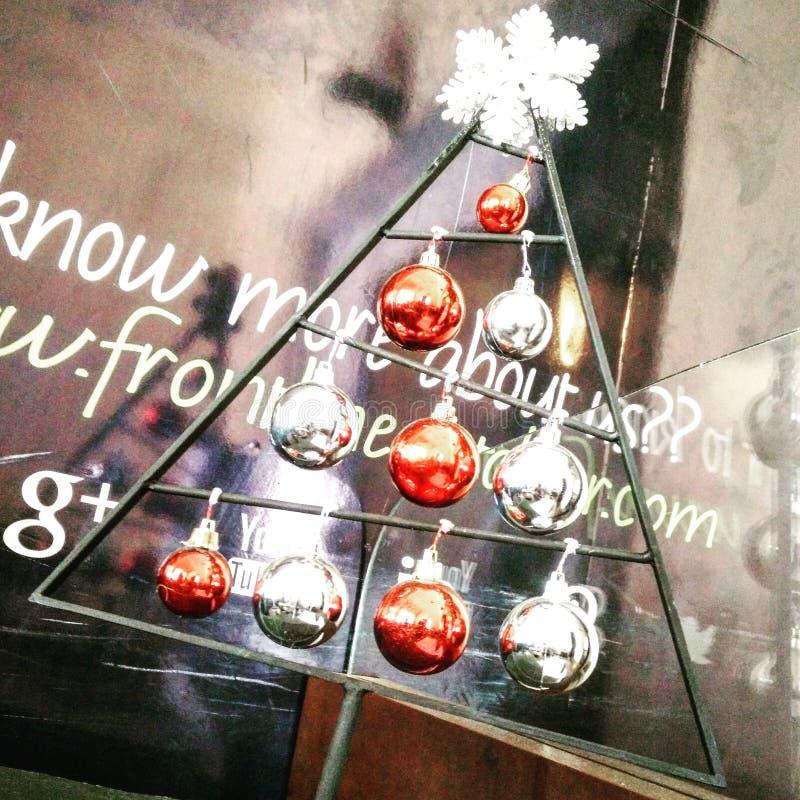 Стойка рождественской елки стоковые изображения