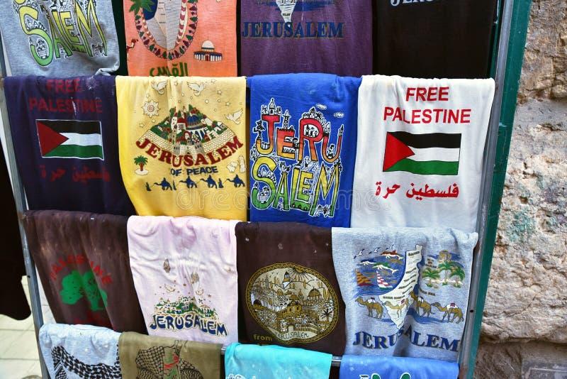 Стойл сувенира в Иерусалиме стоковая фотография rf