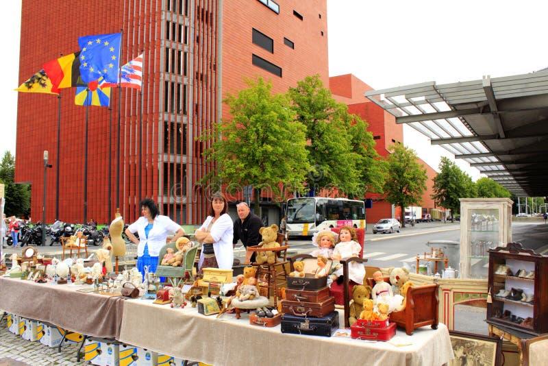 Стойл Бельгия игрушек блошинного стоковые фотографии rf