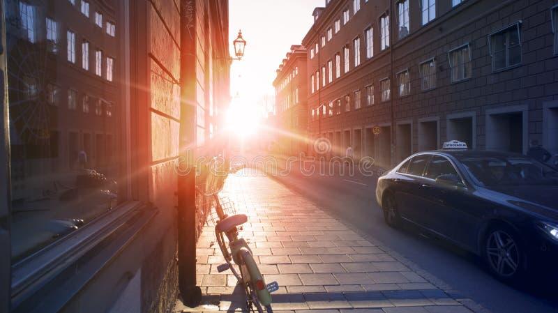 Стокгольм, Швеция, 3-ье ноября 2018 - обычное фото Lafestyle стоковая фотография rf