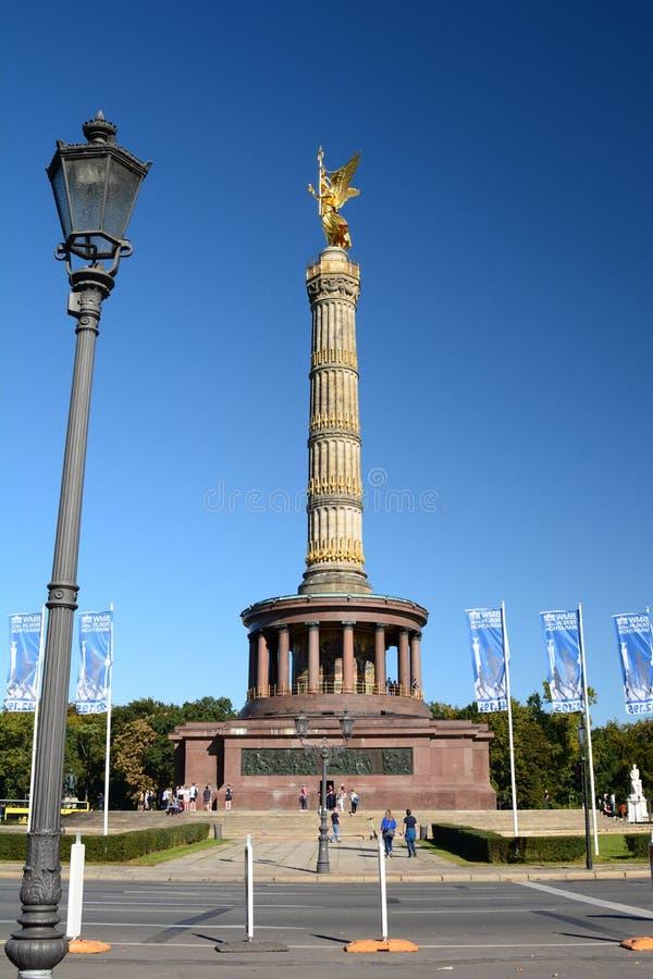 Столбец Победы Берлин Германия стоковые фотографии rf