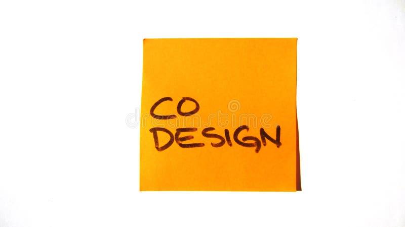 Столб дизайна Co оранжевый оно стоковое изображение rf