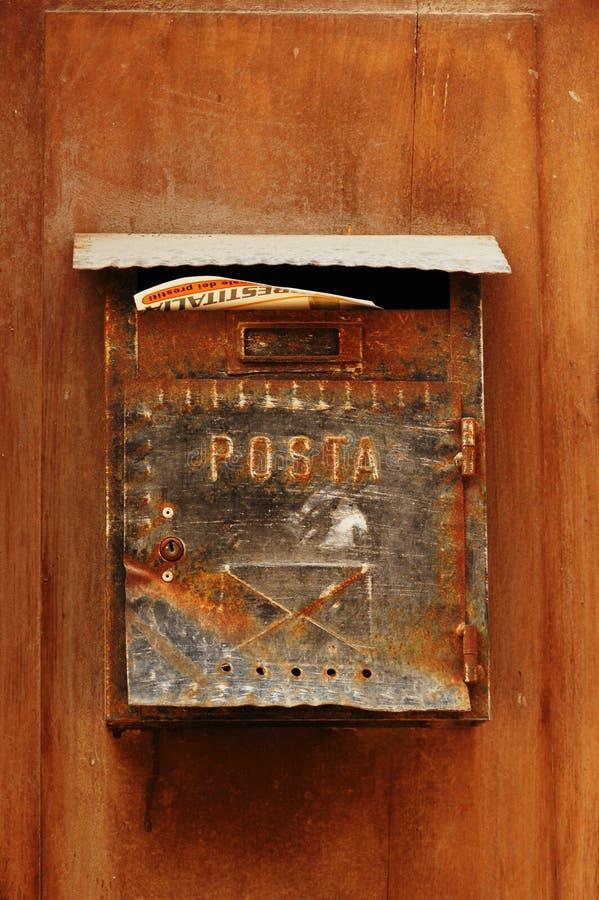 столб итальянки коробки стоковые фотографии rf