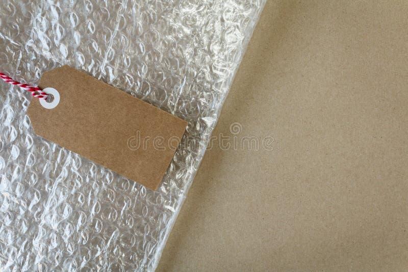 Столб и материалы упаковки стоковые фото