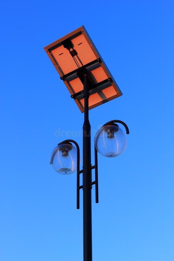 столб светильника самомоднейший стоковые изображения rf