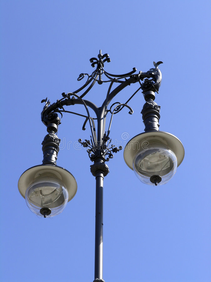 столб светильника berlin стоковые изображения rf