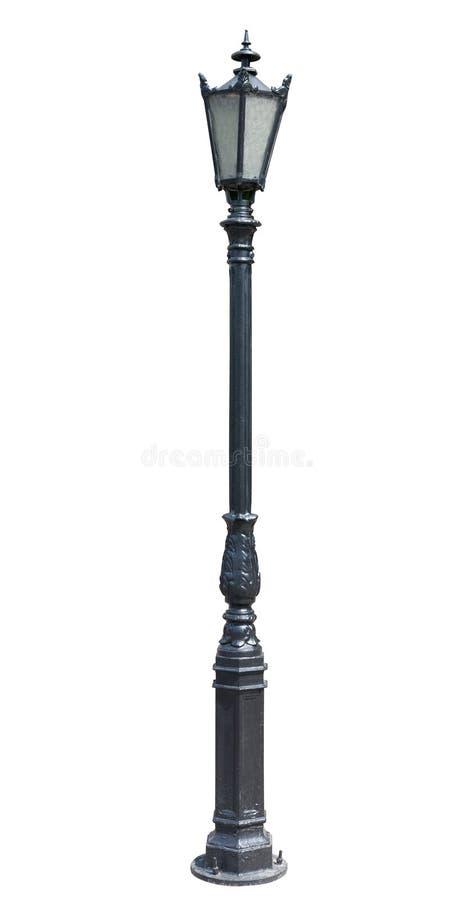 Столб светильника. lampost улицы. collectio уличного света стоковые фото