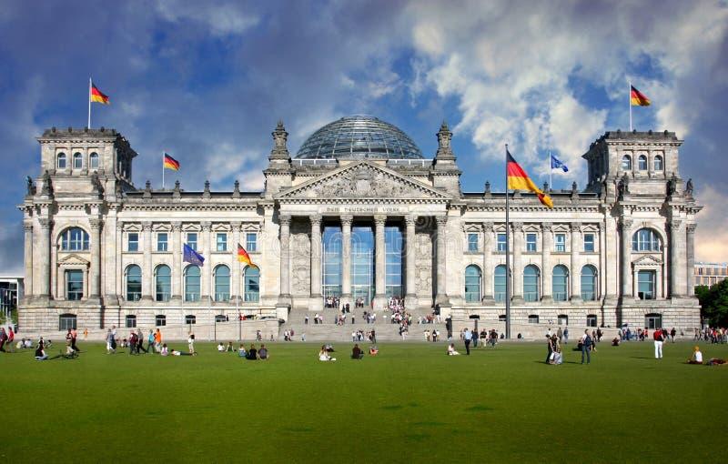столица здания berlin стоковая фотография