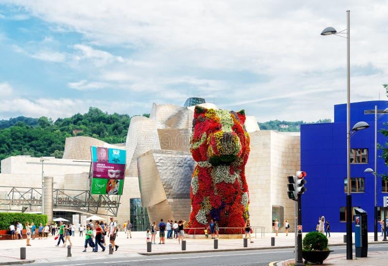 Столица Pais Vasco, Бильбао стоковые изображения rf