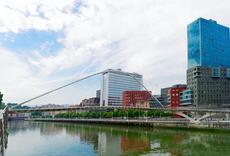 Столица Pais Vasco, Бильбао стоковая фотография rf