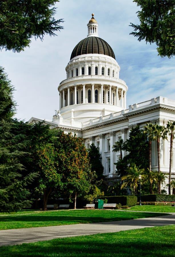столица sacramento california здания стоковые изображения rf
