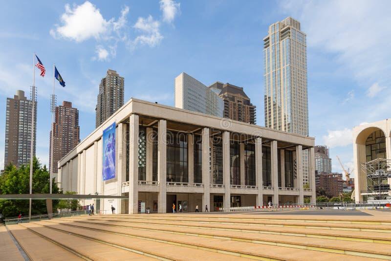 Столичная опера, оперная труппа основанная в Нью-Йорке стоковые изображения