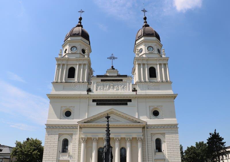 Столичный собор в Iasi, Румынии стоковое изображение