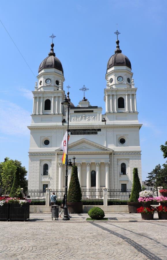 Столичный собор в Iasi, Румынии стоковое фото
