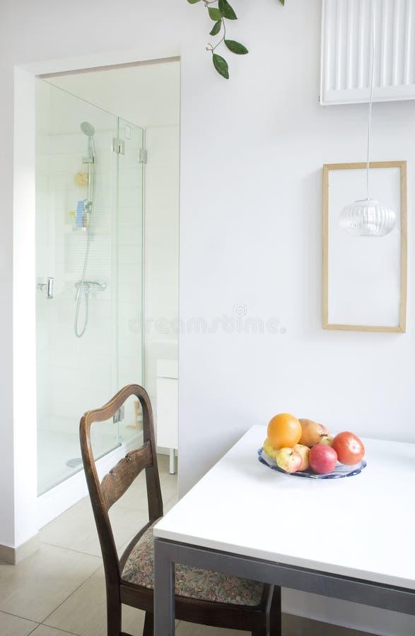 столовая ванной комнаты стоковые изображения