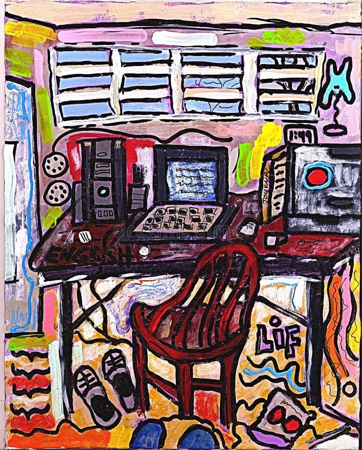 стол мой стоковая фотография rf