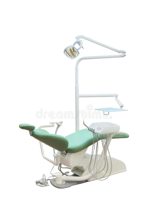 Стоматологический стул стоковое изображение rf