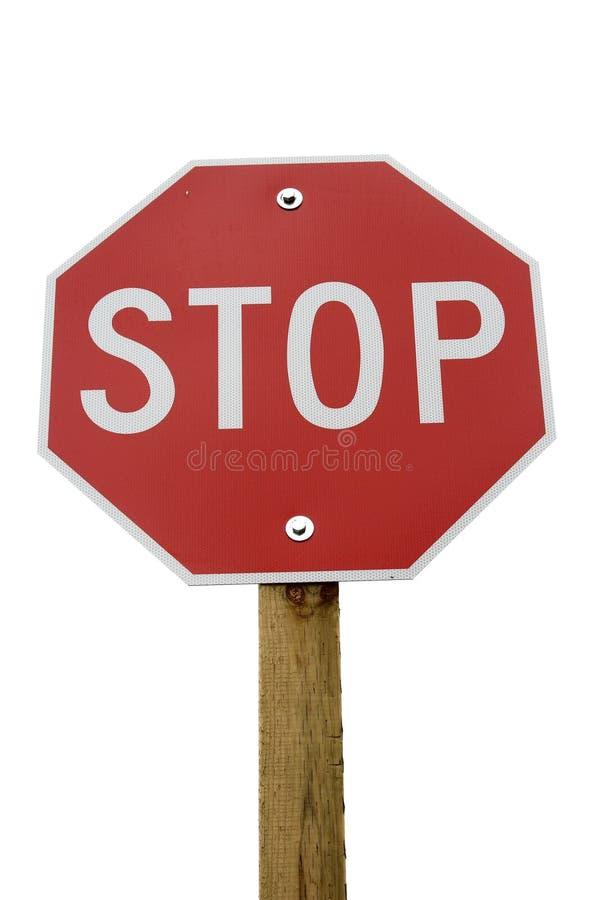 стоп знака стоковое изображение