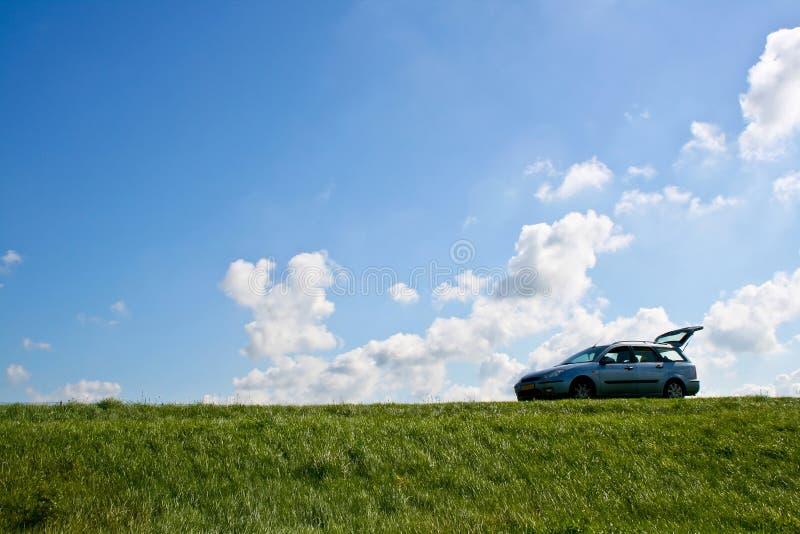 стоп остальных автомобиля стоковые изображения