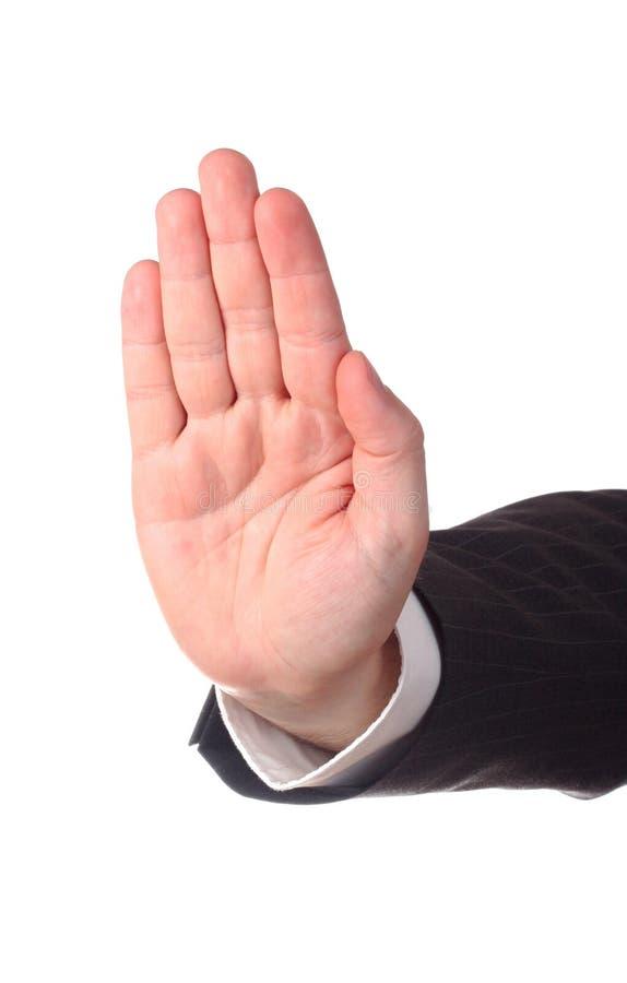стоп руки s стоковое изображение