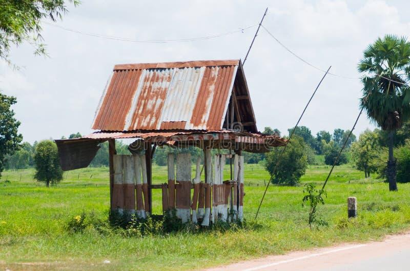 стоп Таиланд укрытия шины примитивный стоковое фото