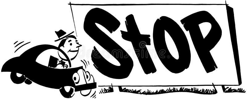 Стоп 2 бесплатная иллюстрация