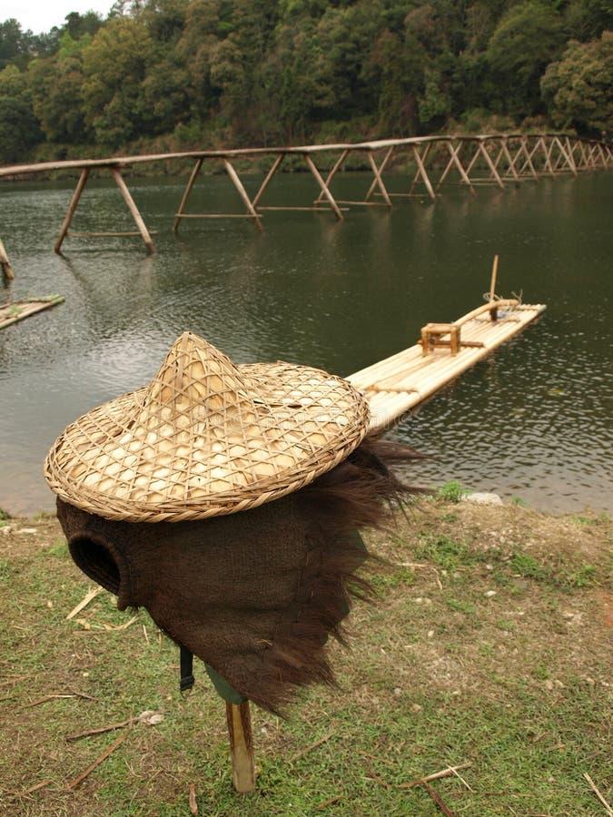 сторновка шлема рыболовства стоковая фотография