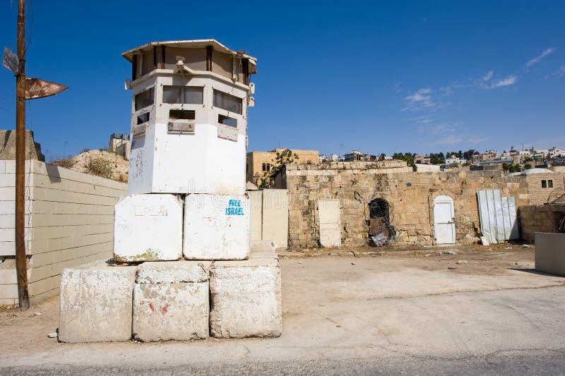 Сторожевая башня в Хевроне стоковая фотография