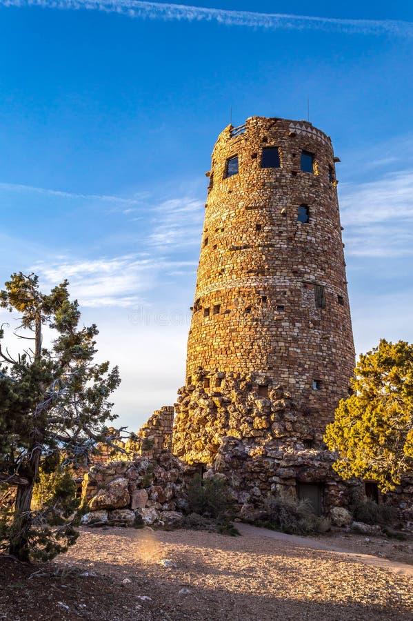 Сторожевая башня грандиозного каньона стоковое фото rf