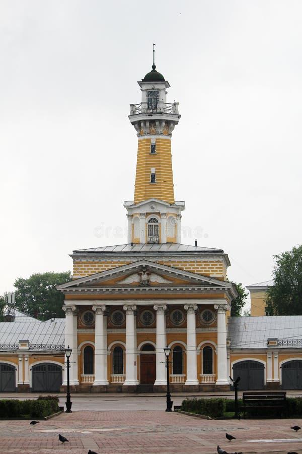 сторожевая башня Огн-замечания в Kostroma стоковое изображение rf