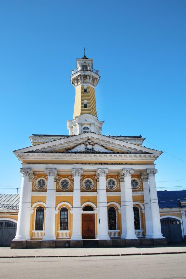 сторожевая башня Огн-замечания в Kostroma стоковые изображения rf