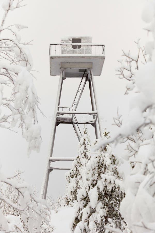 сторожевая башня тюрьмы стоковые изображения rf