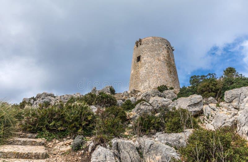 Сторожевая башня Albercutx стоковое фото rf