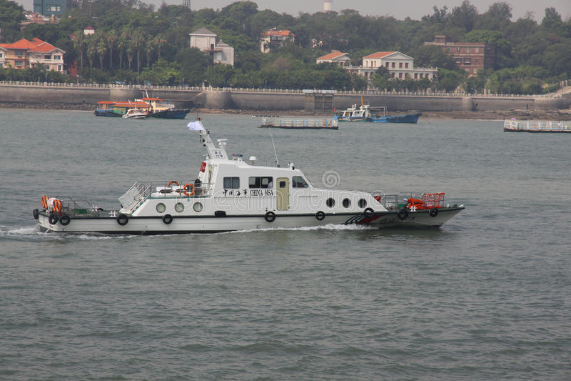 Сторожевой катер Китая морской стоковое фото rf