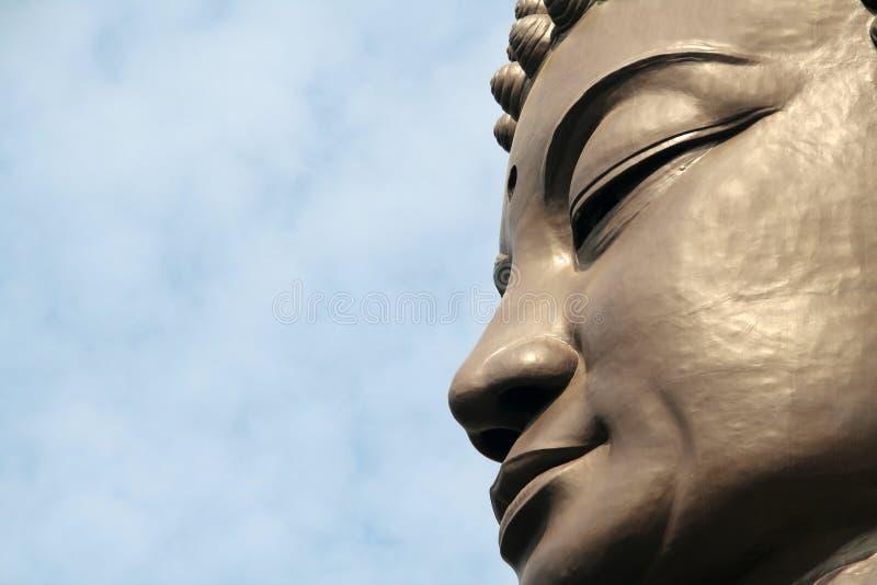 сторона Будды стоковое фото