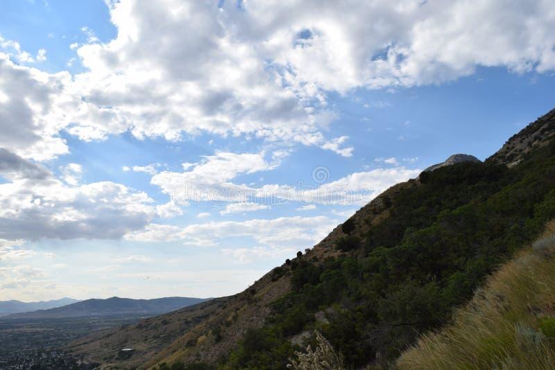 Сторона горы стоковые фото