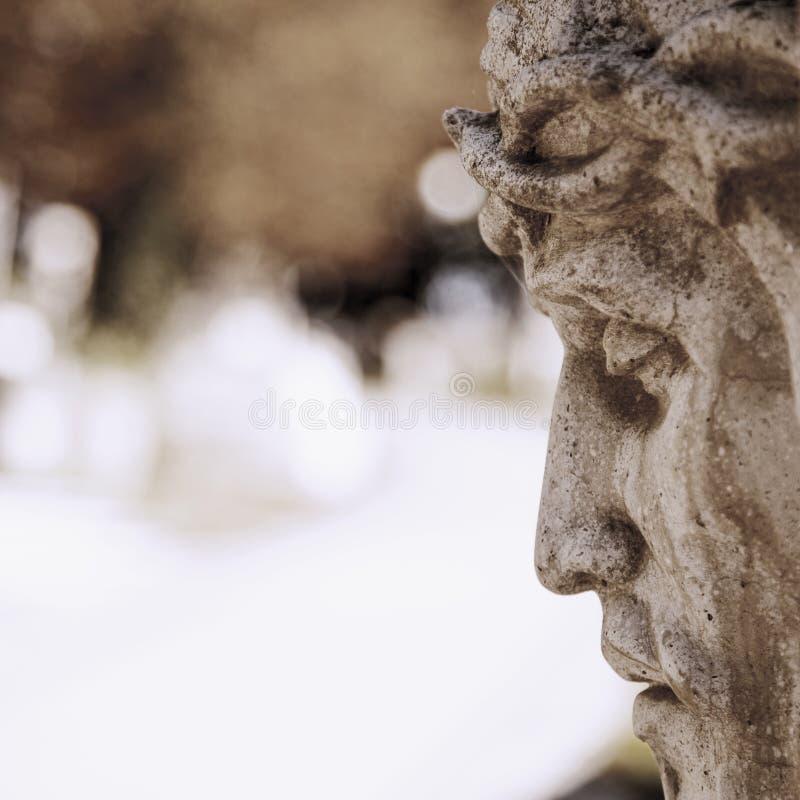Сторона Иисуса Христоса в профиле стоковые фото