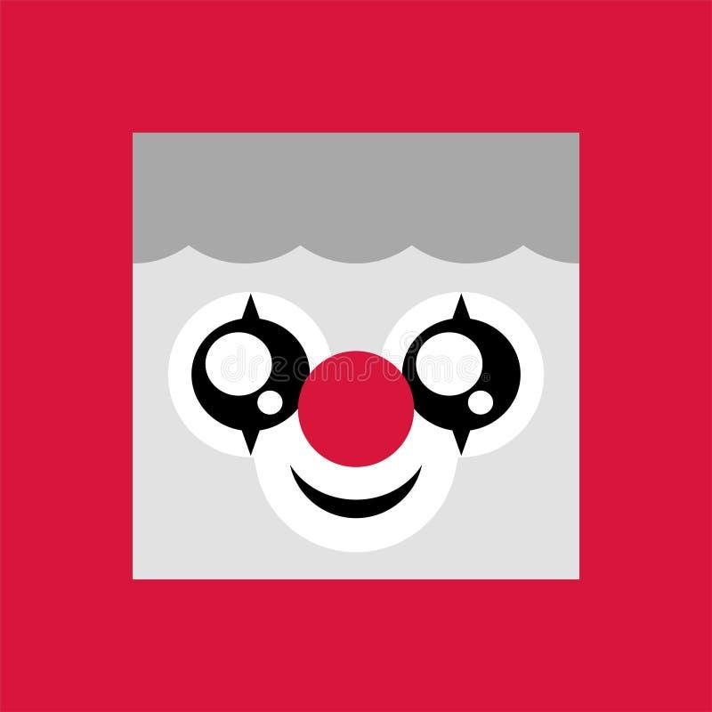 Сторона клоуна бесплатная иллюстрация