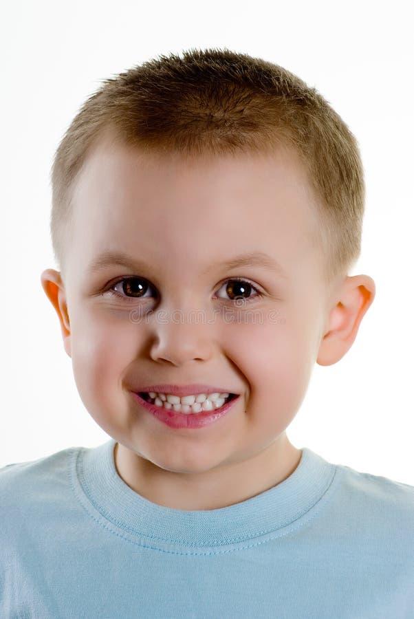 сторона мальчика стоковое фото rf