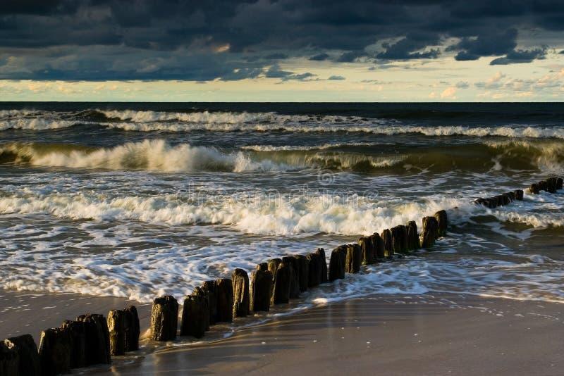 сторона моря ii стоковое фото rf
