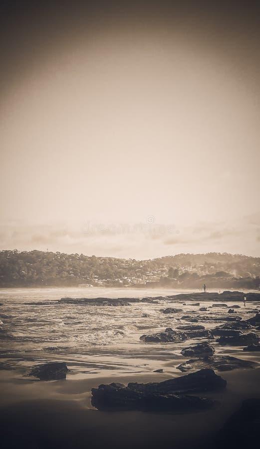 Сторона пляжа стоковое изображение rf