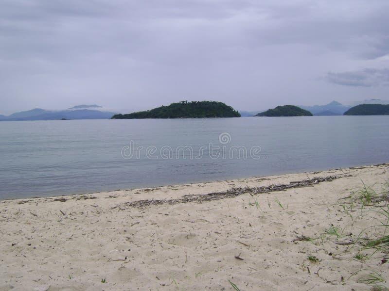Сторона пляжа стоковое изображение