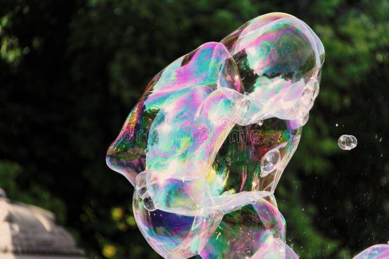 Сторона пузырей стоковое изображение rf