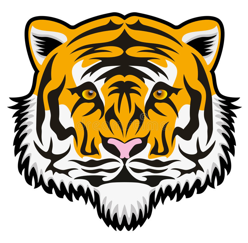 Сторона тигра бесплатная иллюстрация
