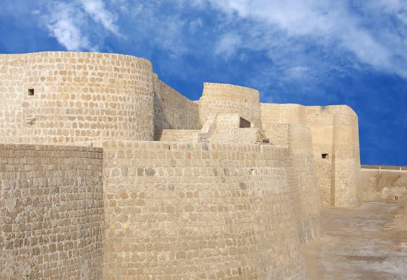 сторона форта closeview Бахрейна северная стоковая фотография rf