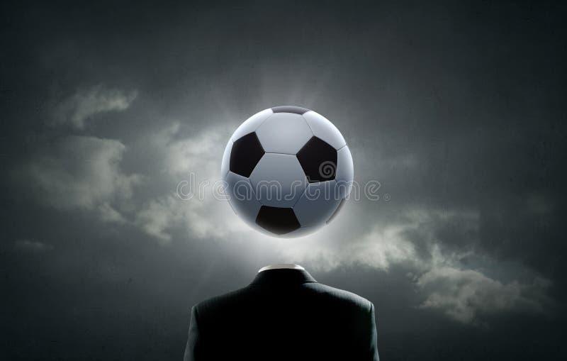 Сторона футбола бесплатная иллюстрация